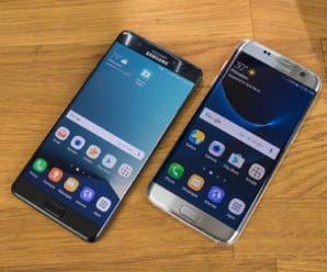 Comparaciones entre Galaxy S7 Edge y Galaxy Note 7