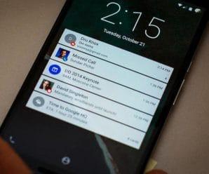 Eliminar o activar notificaciones de aplicaciones en el android