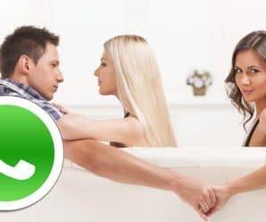 Infidelidad con un truco de whatsapp
