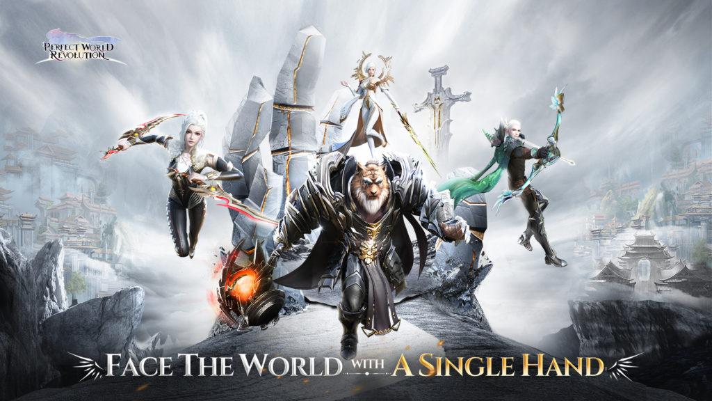 Perfect World: Revolution, el fantástico MMORPG vertical, ya está disponible para dispositivos móviles