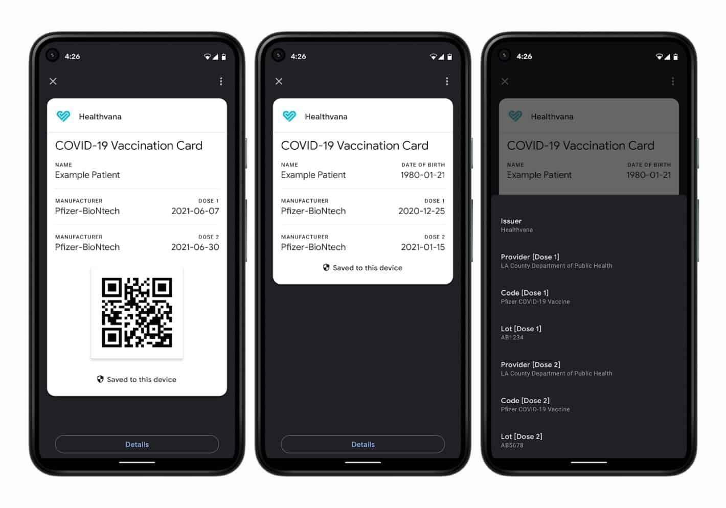 Google Pay ahora puede almacenar sus tarjetas de vacunación COVID-19