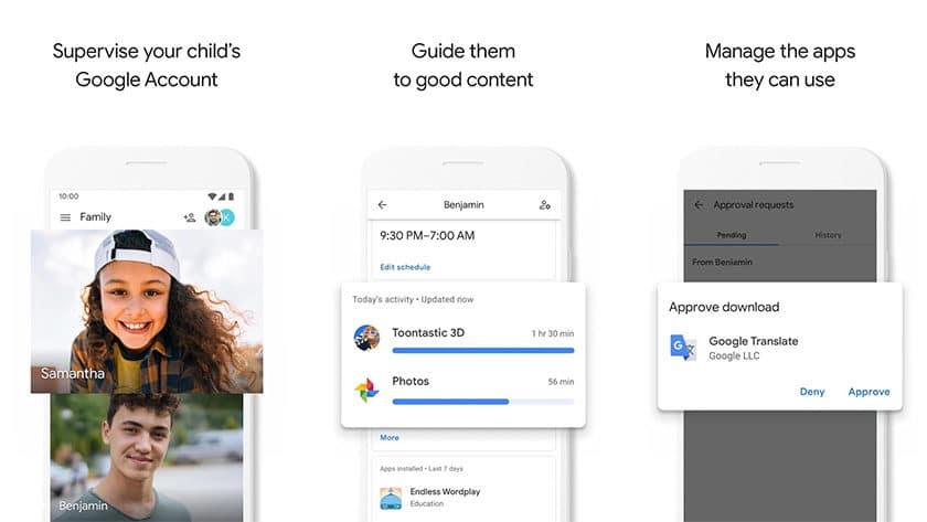 Google Family Link: las mejores aplicaciones de espionaje para Android