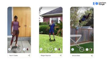 Google 3D AR se vuelve atlético con nuevas incorporaciones de modelos en la búsqueda