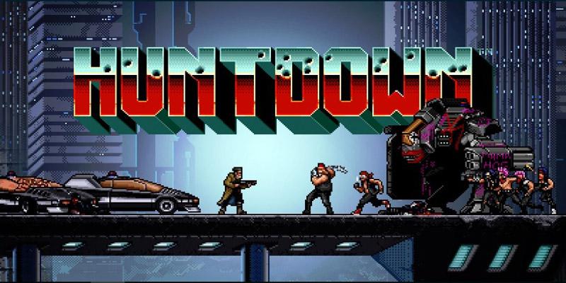 Huntdown, el shooter de comedia de caza de recompensas de éxito de culto, ya está disponible en Android