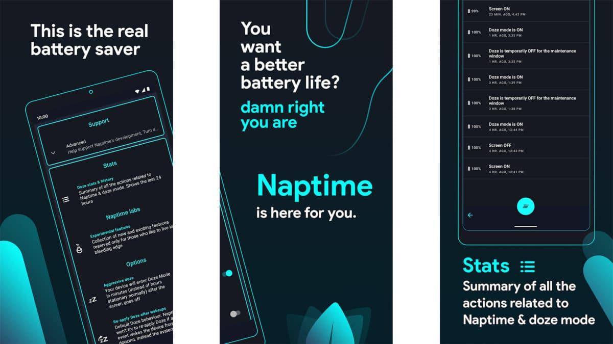 Captura de pantalla de Naptime 2020