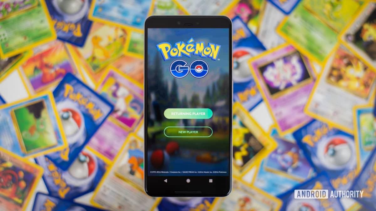 Pokemon Go foto de stock 1