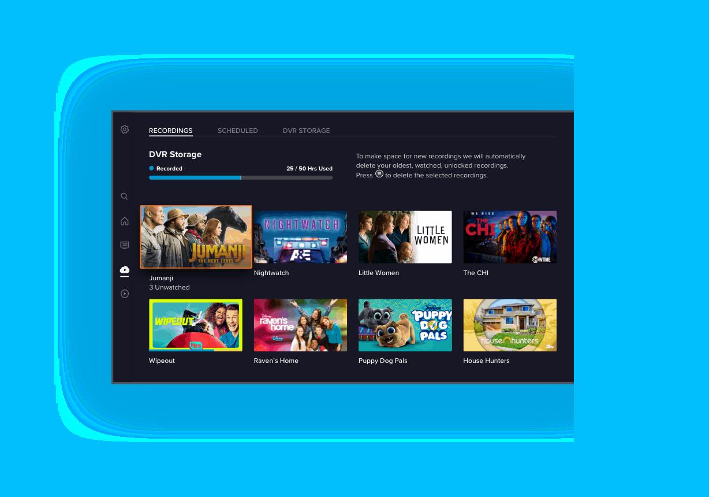 SLING TV Nueva aplicación DVR fácil de usar