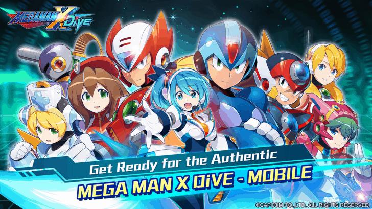 Megaman X Dive para Android está disponible para preinscripción