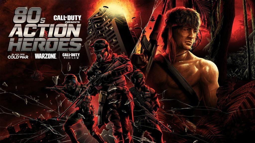 Call of Duty: Mobile tendrá un evento de héroes de acción de los 80 la próxima semana