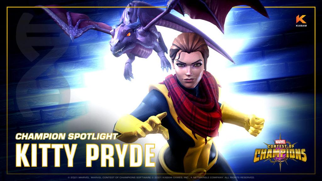 Kitty Pryde ahora disponible en Marvel Contest of Champions