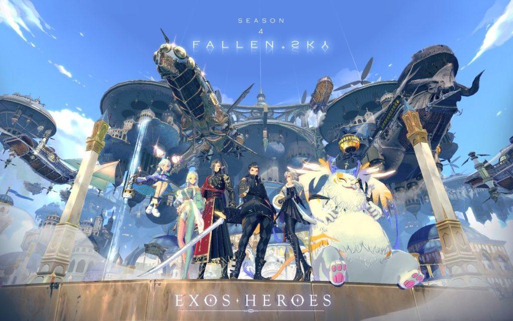 La temporada 4 de Exos Heroes está aquí, agregando nuevos héroes, contenido de la historia y múltiples eventos