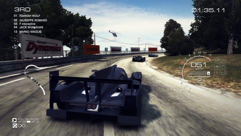 Grid Autosport actualizado con nuevas opciones de control y soporte