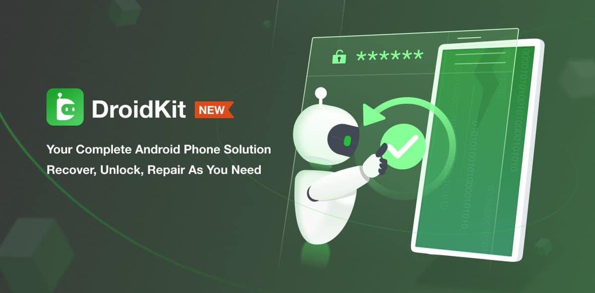 DroidKit es su solución de referencia para solucionar toneladas de problemas de Android