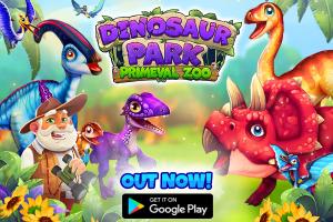 Dinosaur Park - Primeval Zoo es un juego de gestión inspirado en Jurassic Park, disponible ahora en Android