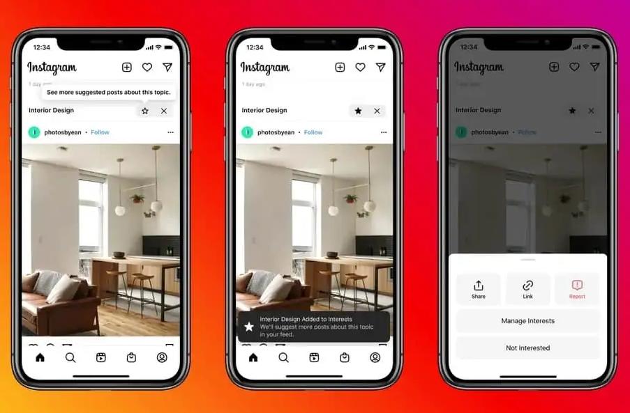 Instagram quiere mezclar publicaciones sugeridas en su feed habitual