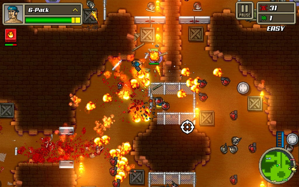 Kickass Commandos a la venta por Dirt Cheap en Play Store