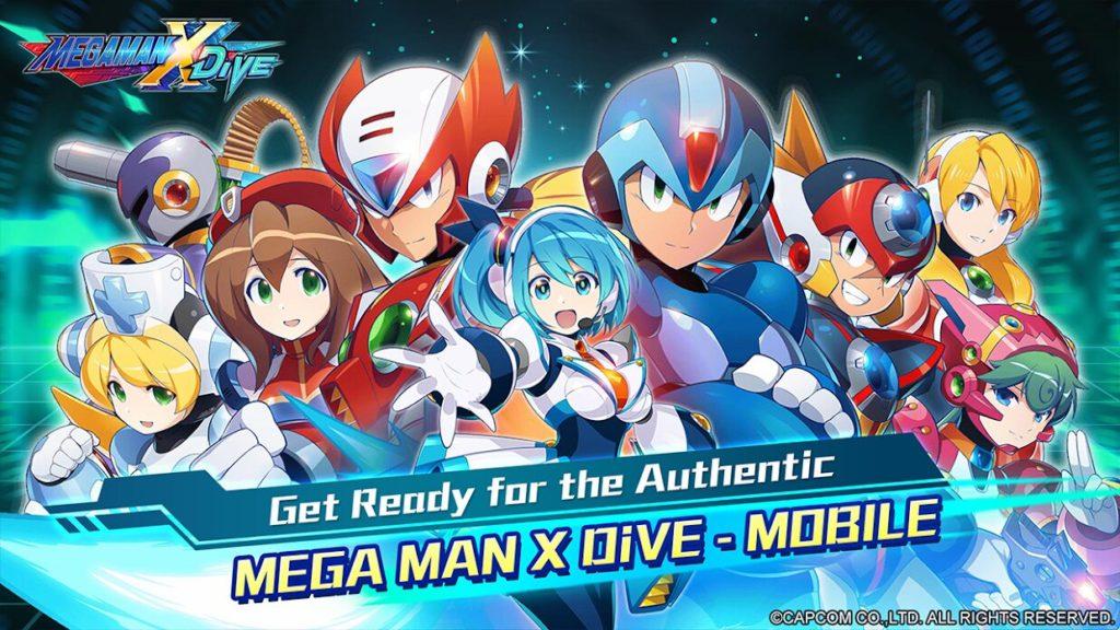 Mega Man X Sumérgete ahora en Google Play Store