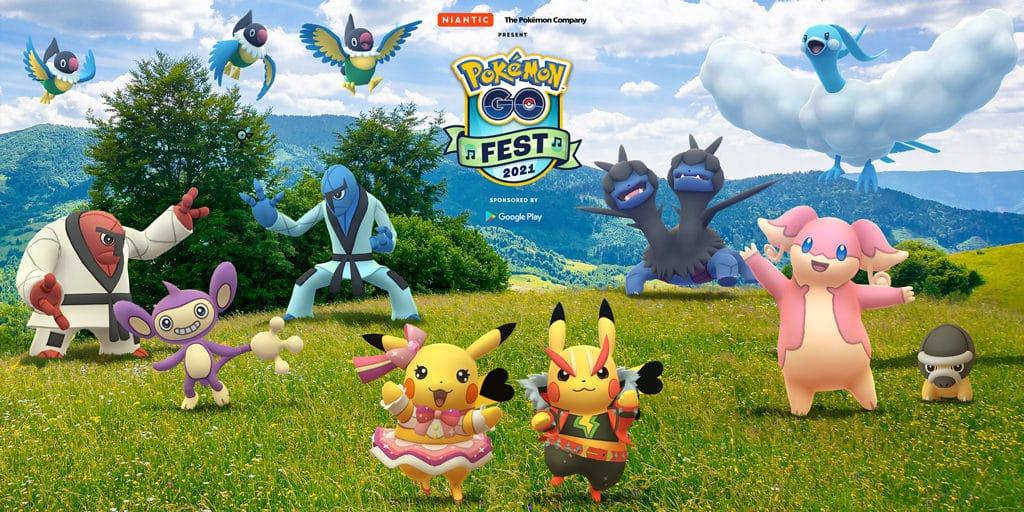 Pokémon Go Fest 2021 se va a estropear con el espacio y el tiempo