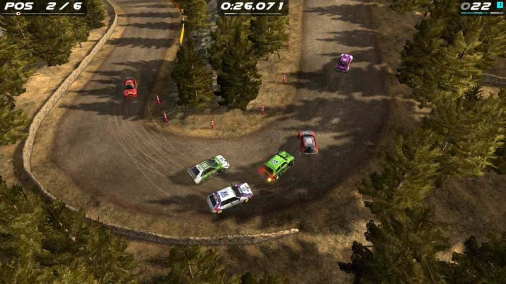 Aquí está el tráiler de debut de Rush Rally Origins