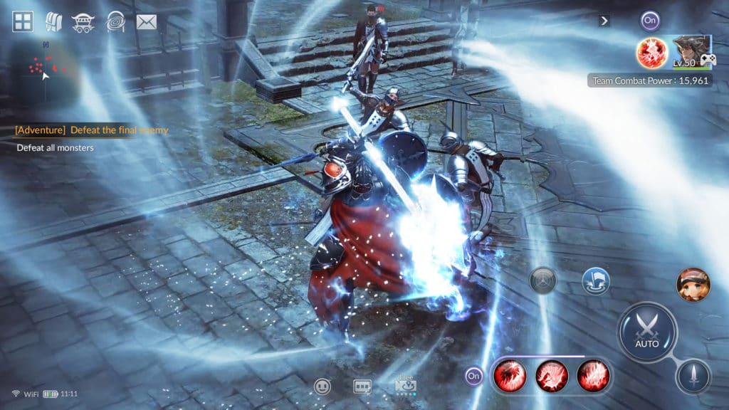 Seven Knights 2 para prerregistro en Play Store