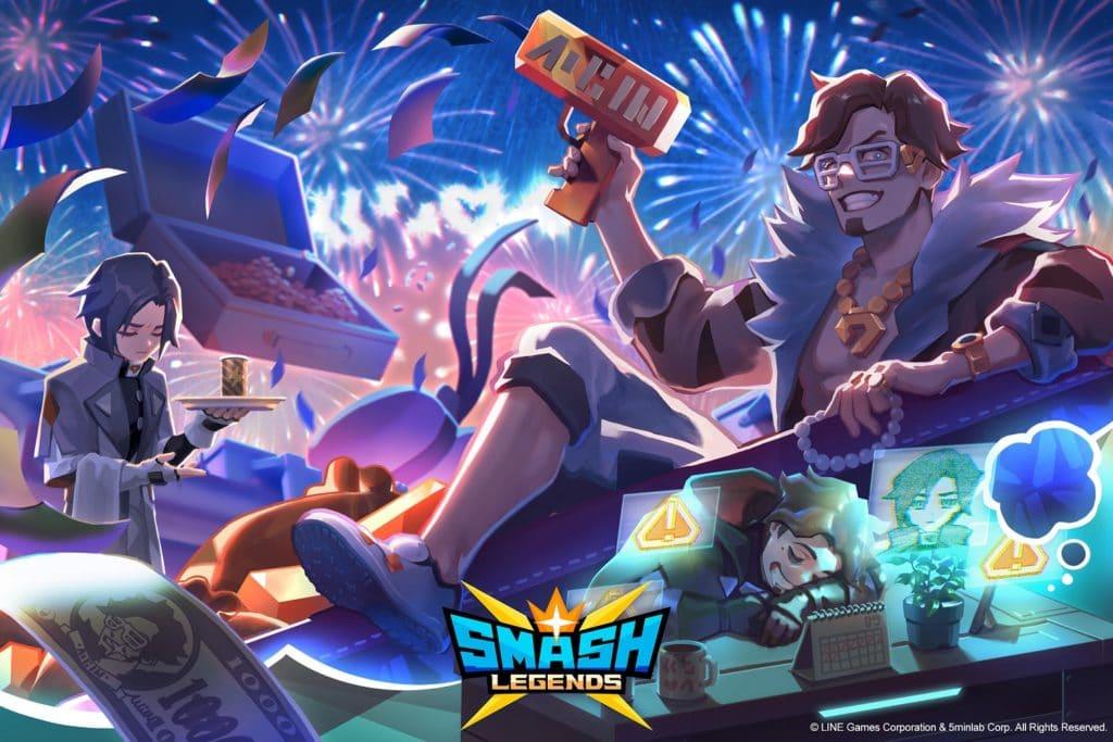 Smash Legends obtiene un nuevo personaje y contenido de aniversario de seis meses