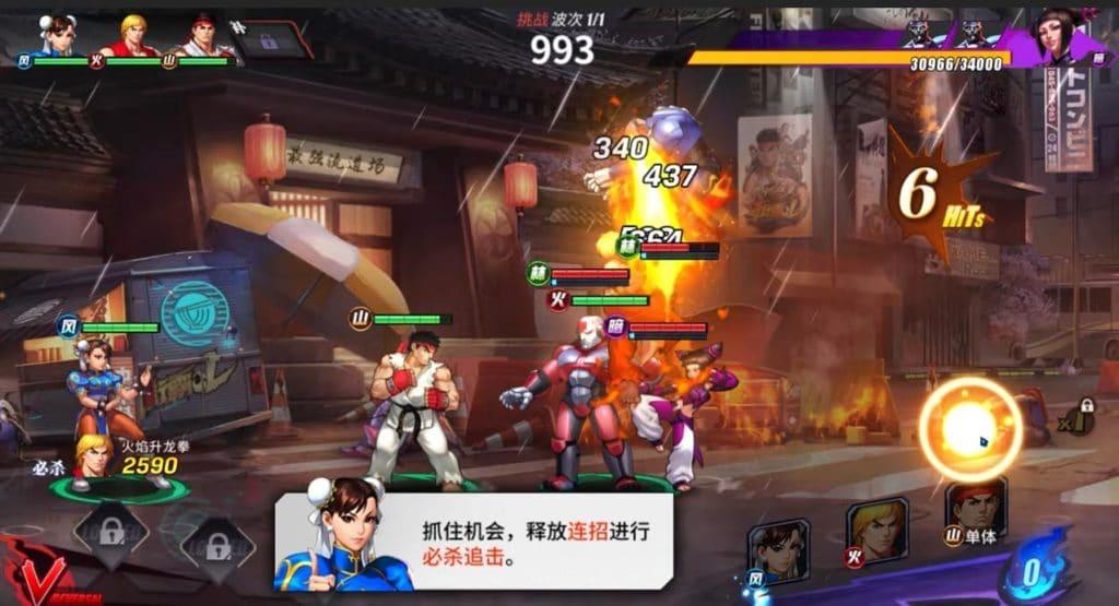 Street Fighter Duel está teniendo un lanzamiento mundial