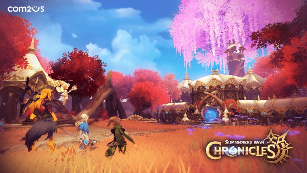 Com2uS revela más detalles sobre el próximo MMORPG Summoners War: Chronicles