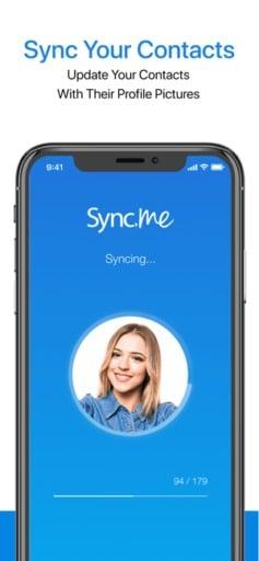 sync.me screenshot