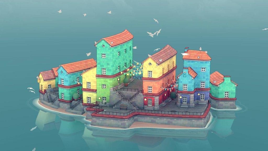Townscaper de Organic City Builder se lanzará en Android el próximo mes